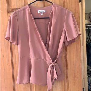 d25afdc5c0ee21 Women s Pink Bow Crop Top on Poshmark